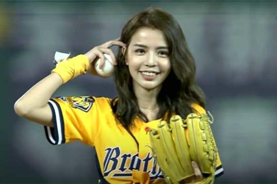 台湾で歌手や女優、モデルとして活動する李毓芬さん(画像はスクリーンショット)