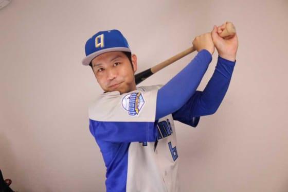 智弁和歌山で活躍し、草野球などで楽しみを伝えるジャスティス上野さん【写真:本人提供】