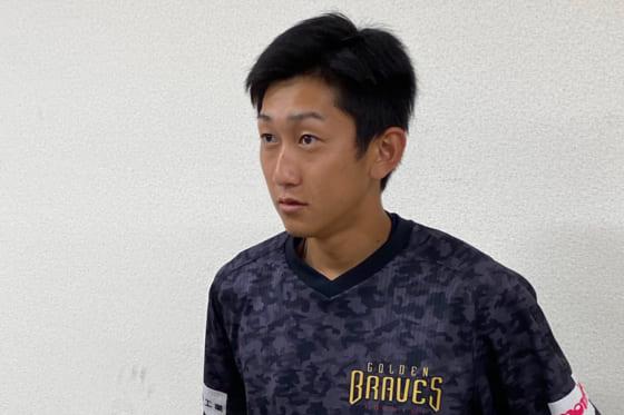練習試合に先発したBC栃木・手塚俊二【写真:細野能功】