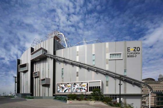 PayPayドームに隣接するエンタメビル「BOSS E・ZO FUKUOKA」が7月21日に開業【写真提供:福岡ソフトバンクホークス】