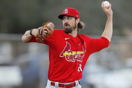 MLB選手会役員でカージナルスのアンドリュー・ミラー【写真:Getty Images】