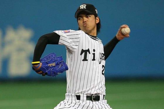 03年に沢村賞を獲得するなど阪神のエースとして活躍した井川慶【写真:Getty Images】