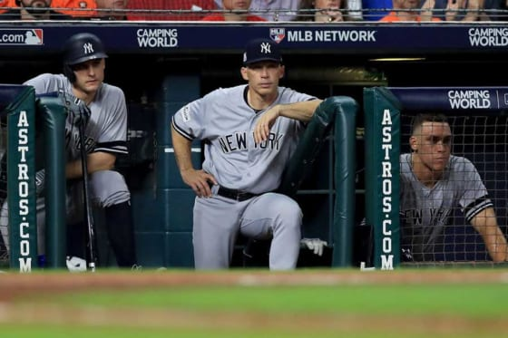 2017年のヤンキースはア・リーグ優勝決定戦でアストロズに敗退しシーズンを終えた【写真:Getty Images】
