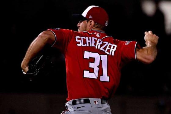 MLB選手会役員のマックス・シャーザー【写真:Getty Images】
