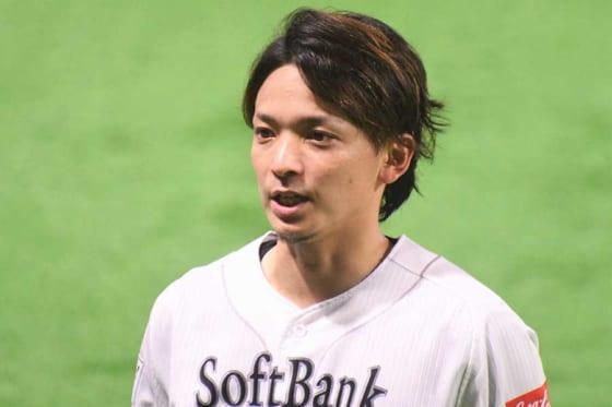 開幕投手に指名されたソフトバンク・東浜巨【写真:藤浦一都】