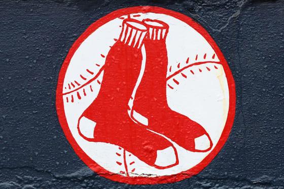 靴下のロゴでお馴染みのレッドソックス【写真:Getty Images】