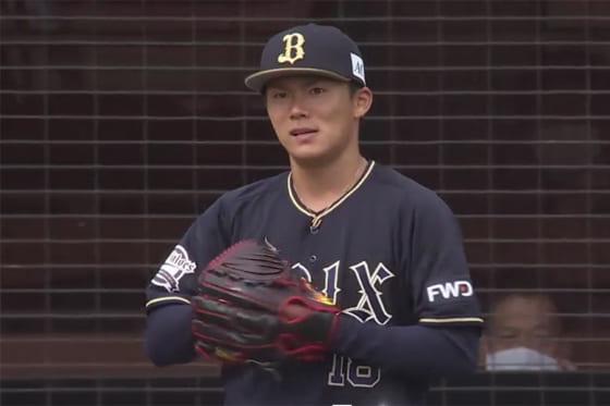 6回途中5失点で降板したオリックス・山本由伸【画像:パーソル パ・リーグTV】
