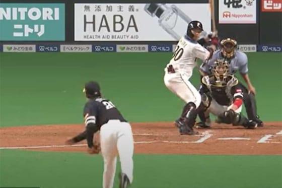 ソフトバンク・石川柊太は1日の日本ハム戦で6回無失点10奪三振と好投した【画像:パーソル パ・リーグTV】