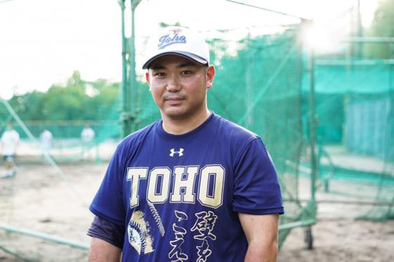 東邦・山田祐輔新監督【写真:荒川祐史】
