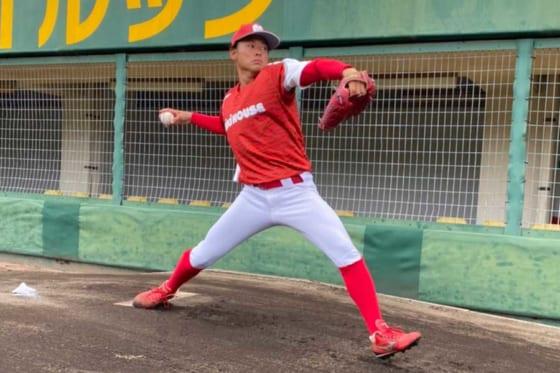 ミキハウス・澁谷勇将投手【写真提供:ミキハウス】