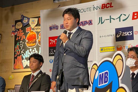 BC埼玉武蔵に入団した田澤純一【写真:佐藤直子】