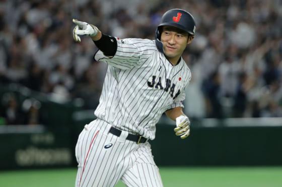 日米野球でサヨナラ弾を放ったソフトバンク・柳田悠岐【写真:Getty Images】