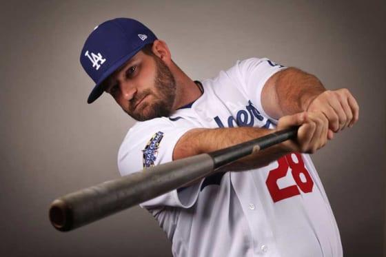 MLB通算26本塁打を放ったタイラー・ホワイト(写真はドジャース所属時)【写真:Getty Images】