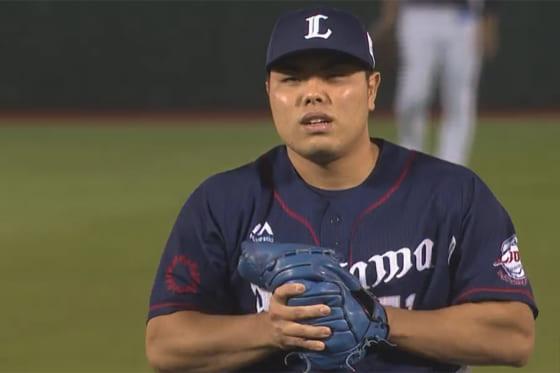 3者凡退に抑えた西武・平良海馬【画像:パーソル パ・リーグTV】
