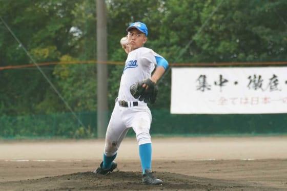 青山学院高校野球部・中山脩悟主将【写真提供:青山学院高校野球部】
