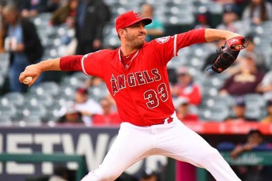 昨季はエンゼルスに所属していたマット・ハービー【写真:Getty Images】