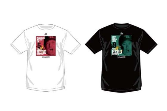 「Today's HERO Tシャツ」【写真提供:福岡ソフトバンクホークス】