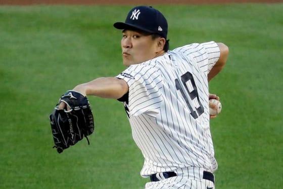 ヤンキース・田中将大【写真:AP】