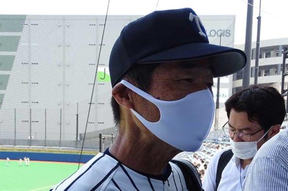 帝京・前田三夫監督【写真:佐藤佑輔】
