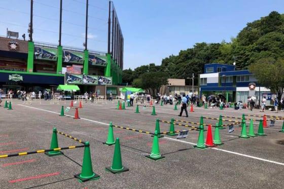 日本ハムは8月11、12日の2軍戦の入場チケットが完売したと発表した【写真提供:北海道日本ハムファイターズ】