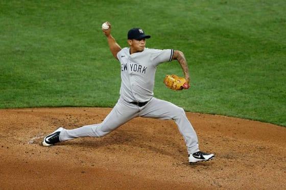 ヤンキースのジョナサン・ロアイシガ【写真:AP】