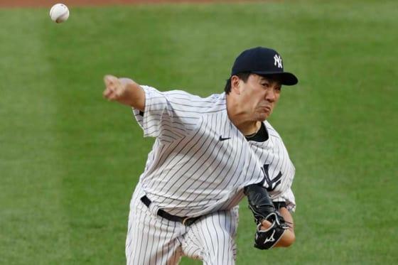 ヤンキースからFAとなった田中将大【写真:AP】
