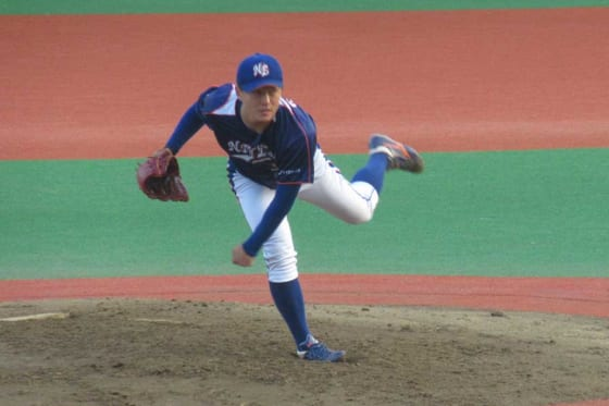 NTT東日本・佐々木健【写真:安藤かなみ】