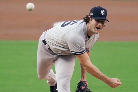 ヤンキースのゲリット・コール【写真:AP】
