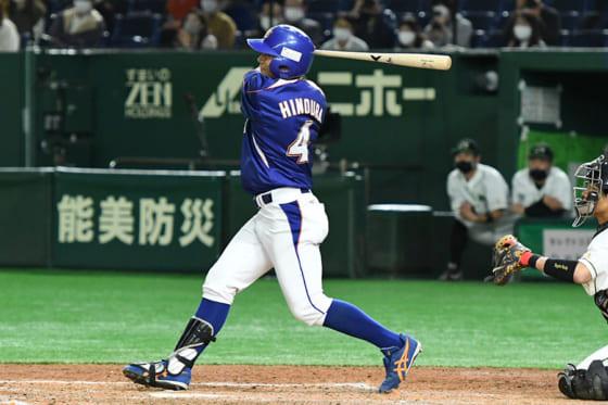 2安打2打点と活躍したNTT東日本・火ノ浦明正【写真:鳥越涼芳】