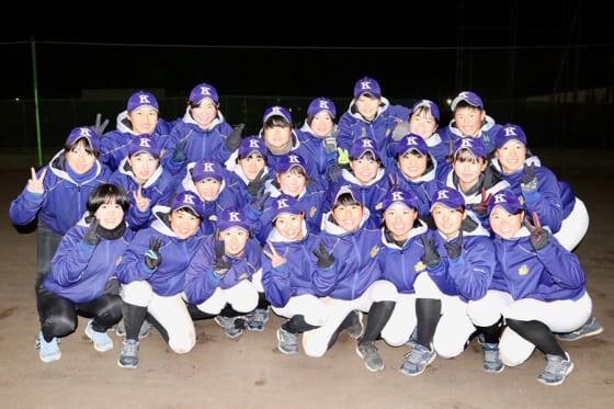 駒大苫小牧・女子硬式野球部【写真:石川加奈子】