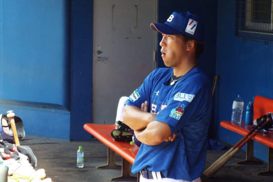 琉球ブルーオーシャンズの亀澤恭平【写真提供:琉球ブルーオーシャンズ】