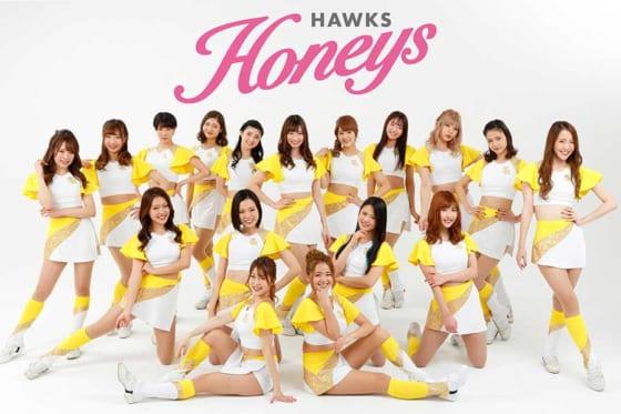 ソフトバンクのオフィシャルダンス&パフォーマンスチーム「ハニーズ」【写真提供:福岡ソフトバンクホークス】
