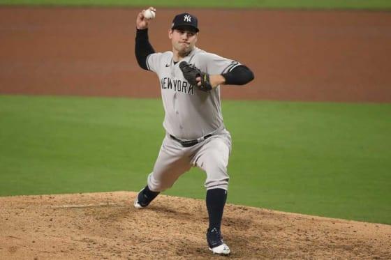 ヤンキースからトレードでレッドソックスへの移籍が決まったアダム・オッタビーノ【写真:Getty Images】