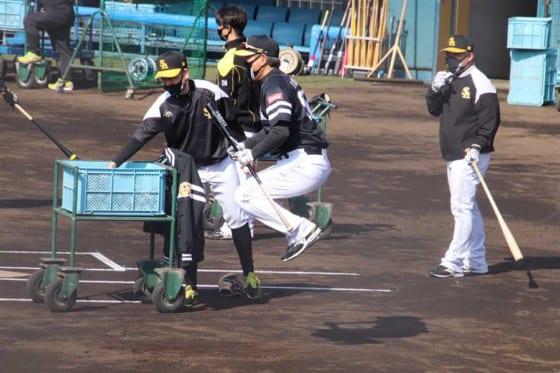 ソフトバンク・小久保裕紀ヘッドコーチ【写真:福谷佑介】