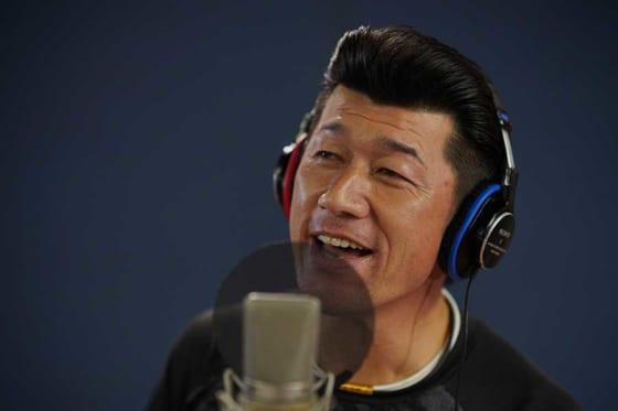 球団歌「熱き星たちよ」のレコーディングを行ったDeNA・三浦大輔監督【写真提供:横浜DeNAベイスターズ】