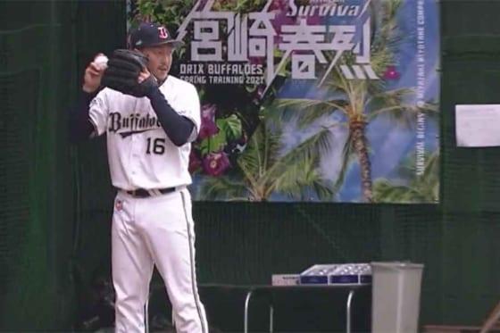 オリックスに復帰した平野佳寿【画像:パーソル パ・リーグTV】