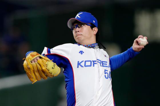 韓国代表としてプレミア12にも出場したヤン・ヒョンジョン【写真:Getty Images】