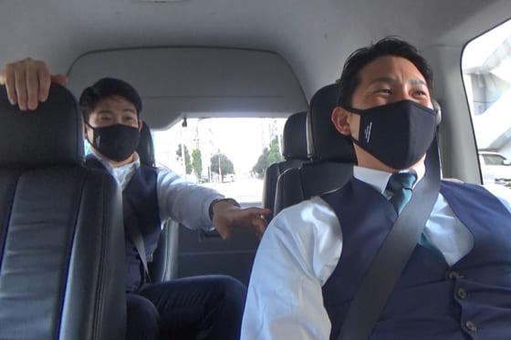 巨人・菅野智之(左)と小林誠司【写真提供:読売巨人軍】