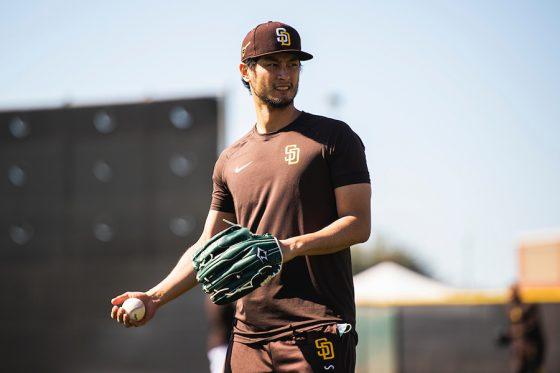 パドレス・ダルビッシュ有【写真:Matt Thomas / San Diego Padres】