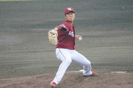 中日戦に登板した楽天・早川隆久【写真:宮脇広久】