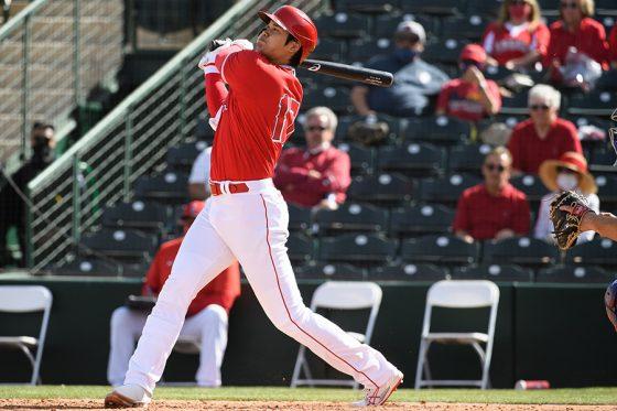 本塁打を放ったエンゼルス・大谷翔平【写真提供:Angels Baseball】