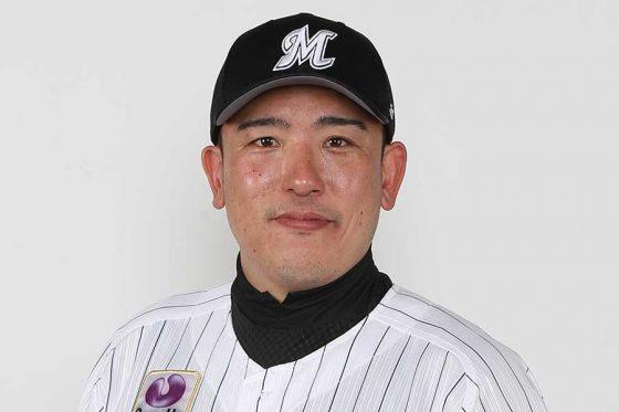 ロッテ・大隣賢司2軍投手コーチ【写真提供:千葉ロッテマリーンズ】