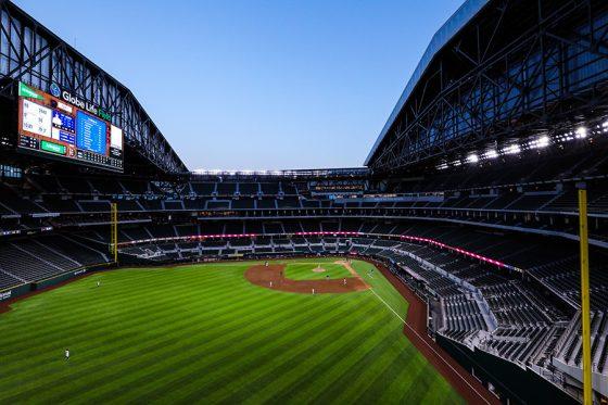 レンジャーズ本拠地のグローブライフ・フィールド【写真提供:Texas Rangers】