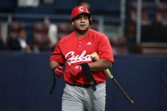 キューバ代表としてプレミア12に出場したデスパイネ【写真:Getty Images】