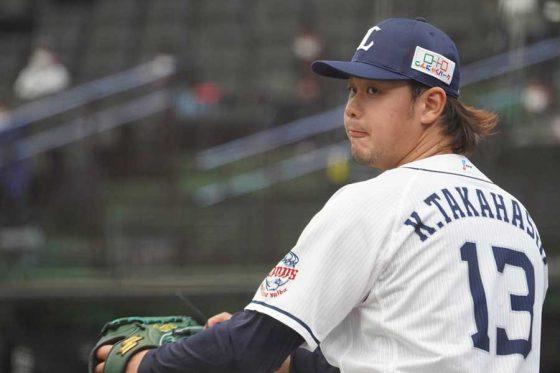 DeNA戦に先発した西武・高橋光成【写真:宮脇広久】