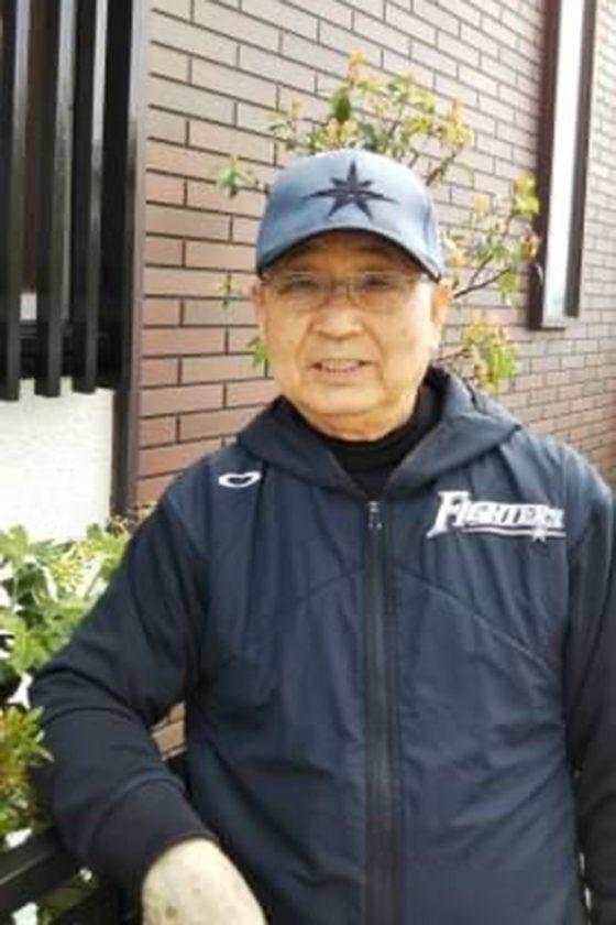 日本ハムのチーム統轄本部長を務めた三澤今朝治氏【写真:本人提供】