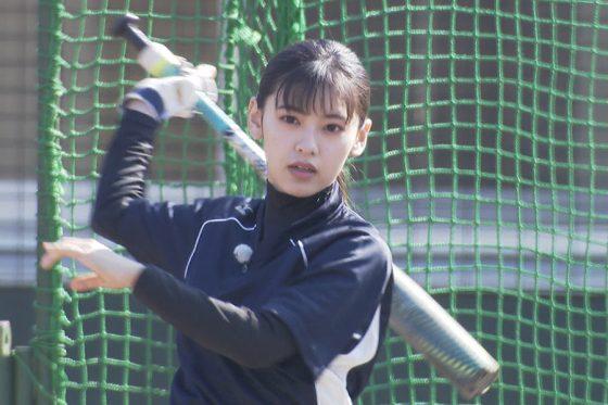 「令和の野球女子」池田朱那さん【写真提供:株式会社アカツキ】