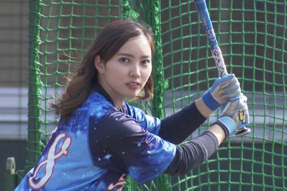 OL野球女子として話題の笹川萌さん【写真提供:株式会社アカツキ】