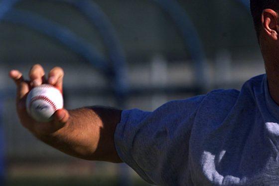 米大学生が投じたナックルボールが話題に(写真はイメージ)【写真:Getty Images】