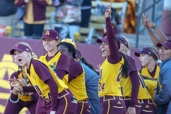 米大学女子ソフトボール界の強豪・アリゾナ州立大【写真:Getty Images】